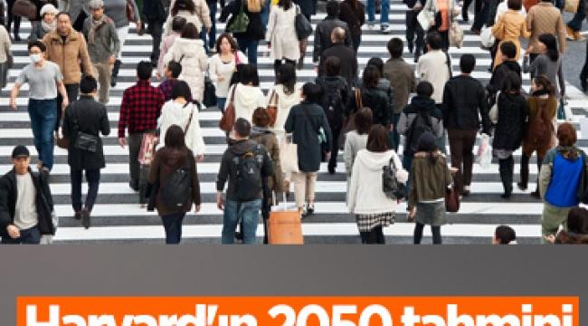 Dünya toplumunun geleceğiyle ilgili 2050 tahmini