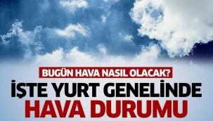 İstanbul ve çok sayıda ile yağış uyarısı! Sıcaklıklar azalıyor