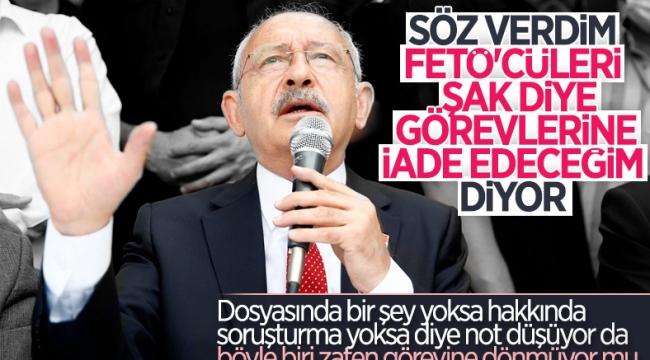 Kemal Kılıçdaroğlu'ndan KHK'lılara göreve dönme sözü