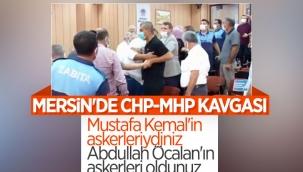 Mersin'de belediye meclisinde 'heval' gerginliği