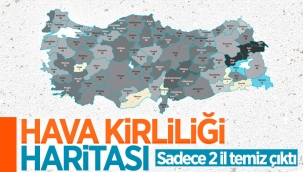 Türkiye'de geçen yıl 13 şehirde 'yüksek hava kirliliği' olduğu belirlendi