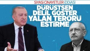 Cumhurbaşkanı Erdoğan'dan 'siyasi cinayet' iddialarına cevap