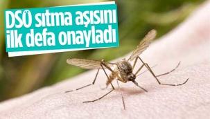 DSÖ, sıtma aşısını onayladı