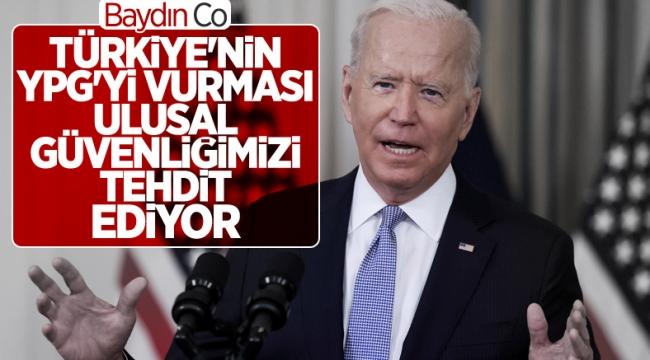 Joe Biden: Türkiye'nin Suriye'deki askeri eylemleri zarar veriyor