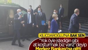 Kemal Kılıçdaroğlu, Merkez Bankası'nda