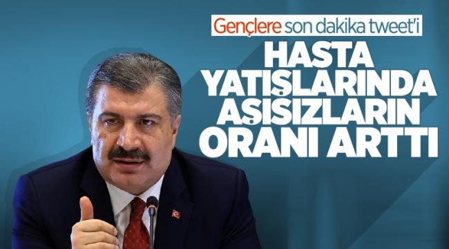 Sağlık Bakanı Fahrettin Koca'dan yeni uyarı