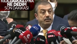 Şahap Kavcıoğlu, Kemal Kılıçdaroğlu ile yaptığı görüşmeyi anlattı
