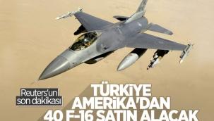 Türkiye, ABD'den F-16 ve modernizasyon kiti alacak