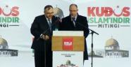 kudüs islamındır mitingi istanbul yeni kapı meydanı