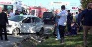 Nikah törenine giderken kaza yaptılar: 1 ölü, 4 ağır yaralı