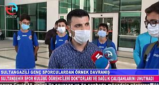SPORCU GENÇLER DOKTORLARA ŞİDDETİ KINADI