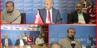 saadet partisi istanbul teşkilatı önce bayramlaştı ardından hocasını ziyaret etti